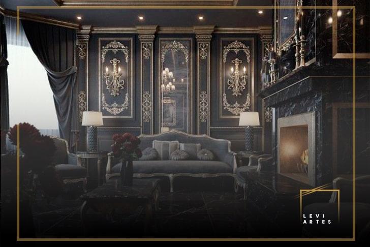 Дизайн интерьеров в классическом стиле