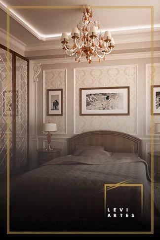 фото спальни в классическом стиле